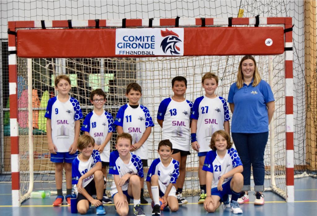 photo d'équipe -11 garçons saison 2021-2022