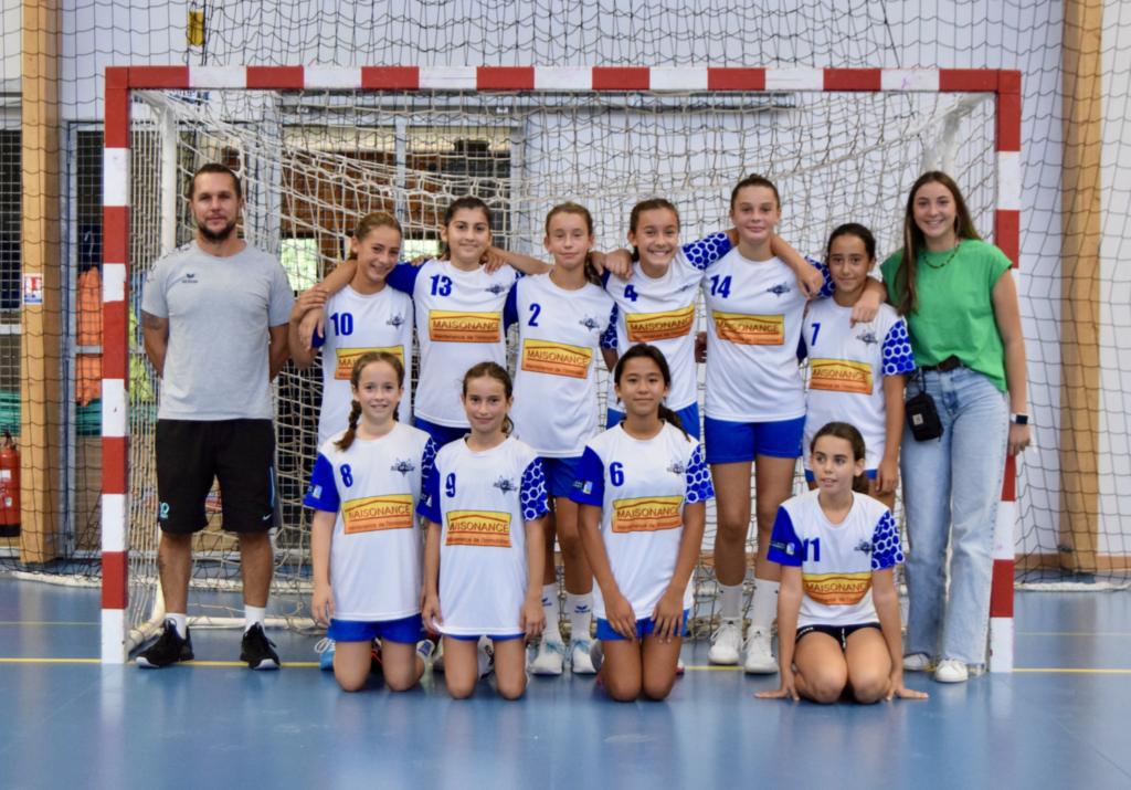 photo d'équipe -13 filles 2021-2022