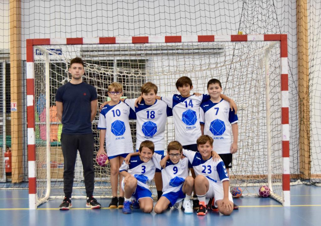 photo d'équipe -13 garçons 2021-2022
