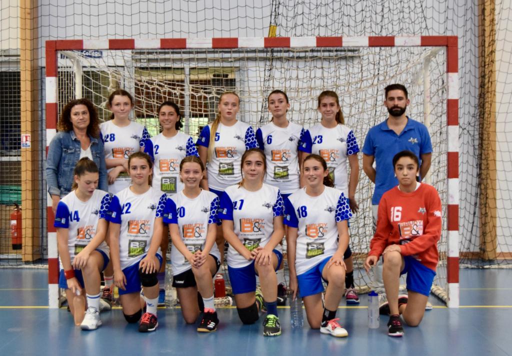 photo équipe -15 Filles 2021-2022