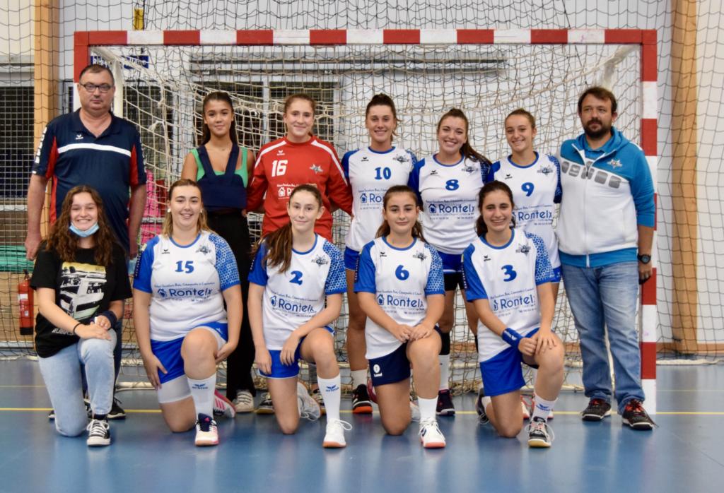 photo d'équipe -18 Filles région 2021-2022