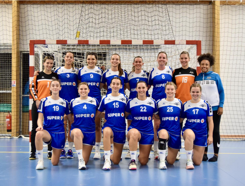 photo d'équipe Nationale 2 Féminine 2021-2022