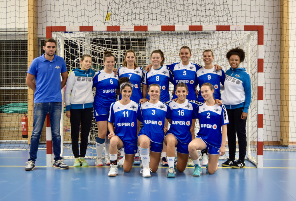 photo d'équipe de la Prénationale Féminine 2021-2022